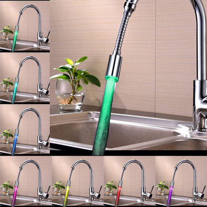 Foto Produk 360 Rotation LED Faucet Tap Heads Aerators Water Powered 7 Colors dari Interest Shop
