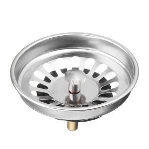 Foto Produk Stainless Steel Kitchen Sink Strainer Waste Plug Drain Stopper Water dari Interest Shop