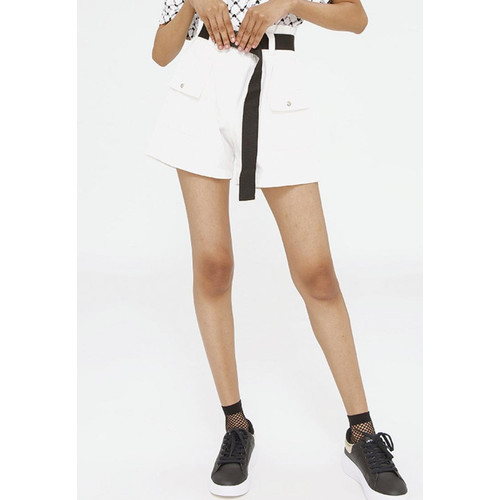 Foto Produk Colorbox Paperbag Pants With Buckle I:Spdfct120F008 White - White, M dari Colorbox Indonesia