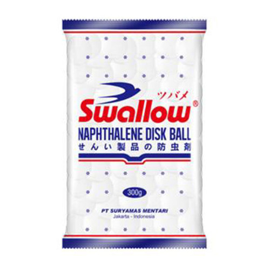 Foto Produk Swallow Kamper Naptalin S 121 500 Gr dari Hypermart Thamrin City