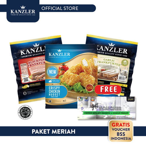 Foto Produk Paket Meriah Free Voucher Brazilian Soccer School dari Kanzler Official Store