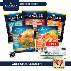 Foto Produk Paket Stok Sebulan Free Voucher Brazilian Soccer School dari Kanzler Official Store