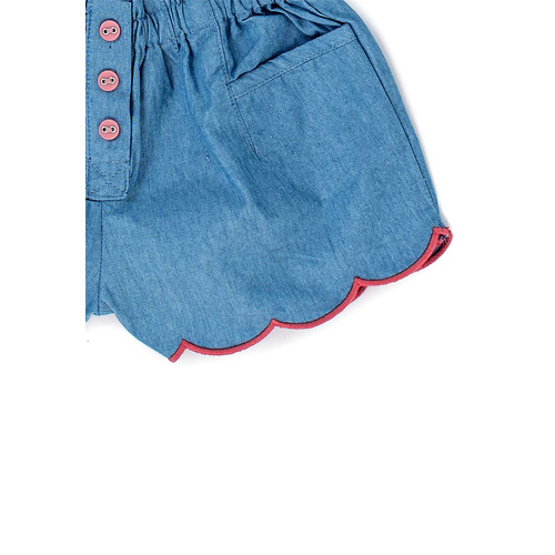 Foto Produk Gingersnaps Woodland Whimsy Short Lt Denim Blue - 12 m dari Gingersnaps Official
