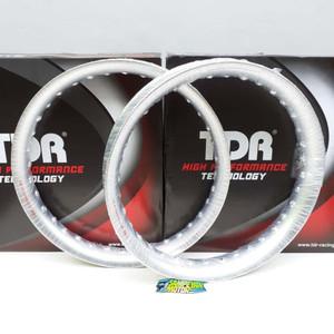 Foto Produk Velg Set TDR Racing U Shape Silver Ring 17 185 Dan 215 dari Yayang Prameswari Fandita