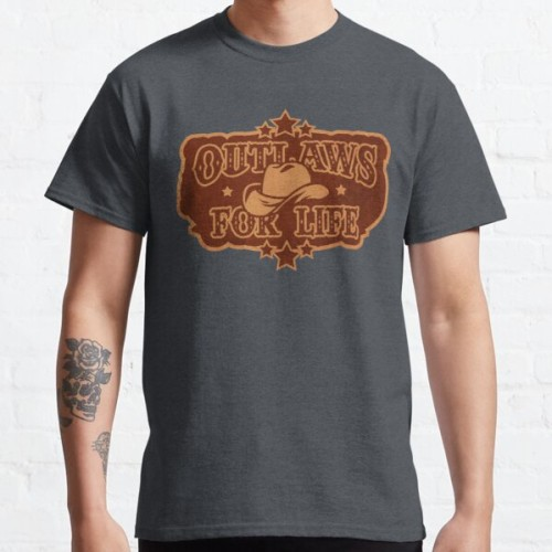 Foto Produk Kaos Outlaws for Life Red Dead Redemption 2 T-shirt 196320 dari BOMBASTEES