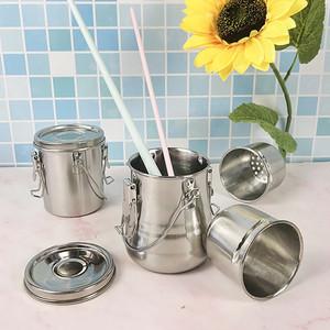 Foto Produk Oil Painting Brush Washing Bucket Wash Pen Barrel Stainless Steel dari Tarogoy