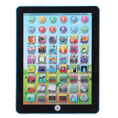 Foto Produk Garansi. Baby Tablet Educational Toys Girls Learning English Voice T dari Rumah Cantik Hilwa