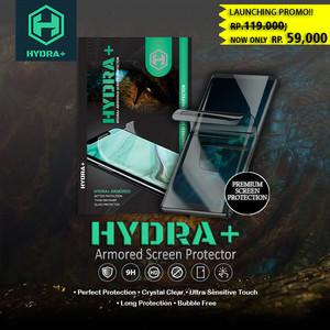 Foto Produk HYDRA+ Samsung A50 - Anti Gores Hydrogel - Tempered Glass Full - Belakang dari HYDRA+ Official Store