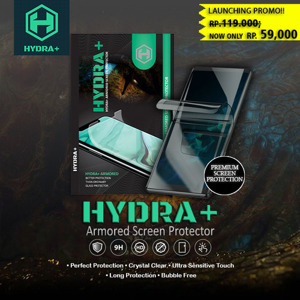 Foto Produk HYDRA+ Samsung A51 - Anti Gores Hydrogel - Tempered Glass Full - Belakang dari HYDRA+ Official Store