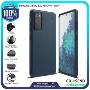 Foto Produk Ringke Samsung Galaxy S20 FE Onyx Navy Softcase Anti Crack Armor dari Official Ringke Partner
