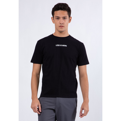 Foto Produk The Executive Slim T-Shirt 1-TSIKEY120D709 Black - Black, XL dari The Executive Indonesia