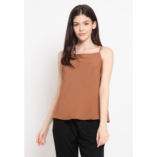 Foto Produk The Executive Basic Camisole 5-SLWKEY120E071 Brown - Brown, M dari The Executive Indonesia