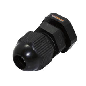 Foto Produk Cable Gland / Kabel Gland PG - 7 Nintoku - Hitam dari INDOLISTRIK OFFICIAL TNG