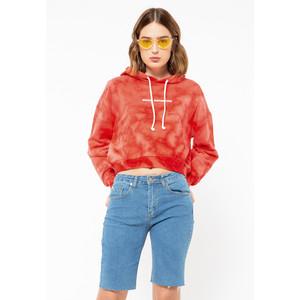 Foto Produk Colorbox Oversized Tie Dye Sweatshirt I:Tskfjn220L025 Red - RED, XS dari Colorbox Indonesia
