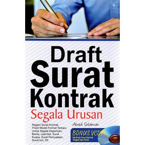 Foto Produk DRAFT SURAT KONTRAK SEGALA URUSAN dari Gramedia Official Store