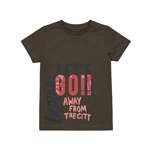 Foto Produk let's go t-shirt WD995 - KHAKI, 2-3 years dari Mothercare Official Shop