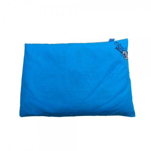 Foto Produk Olus Pillow Bantal Kulit Kacang Hijau - Blue dari babyzania-id