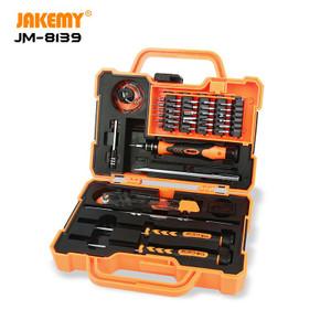 Foto Produk Jakemy Obeng Set 45 in 1 Screwdriver Repair Tool Box Kit JM-8139 dari Jakemy Official Store