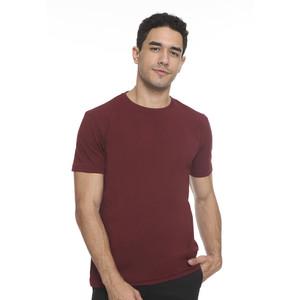 Foto Produk The Executive Basic Plain T-Shirt 1-TSIBSC519O035 Burgundy - Burgundy, M dari The Executive Indonesia
