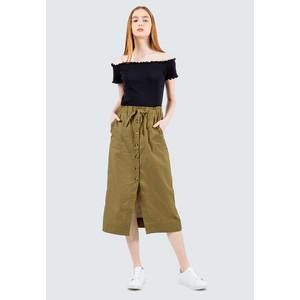 Foto Produk Colorbox Button Up Skirt I-Sdwkey120E043 Olive - Olive, L dari Colorbox Indonesia