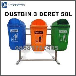 Foto Produk Tempat Sampah Dustbin 3 Deret Dinas Perkantoran dan Perumahan dari Denti Aprilianti