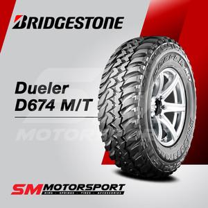 Foto Produk Ban Mobil Bridgestone Dueler D674 MT 215/75 R15 15 0WT 100Q 6PR dari SM Motorsport