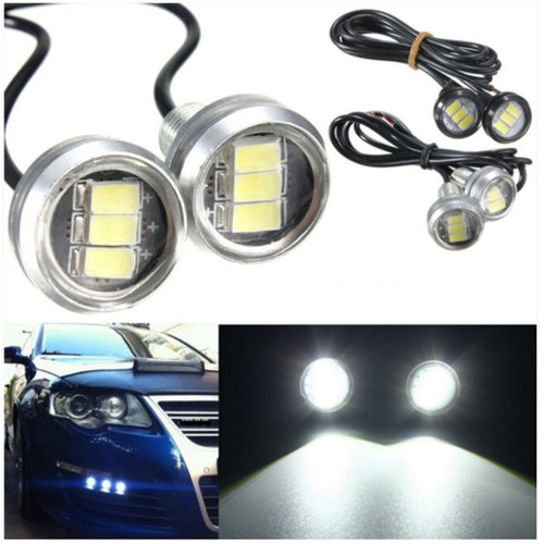 Foto Produk garansi... Pair 3W LED Eagle Eye Lamp Car Up Reverse Lamp Day dari Rumah Cantik Hilwa