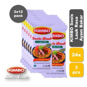 Foto Produk KIMBO Sosis Lauk Rasa Ayam Bakar Bag Twin Pack dari KIMBO