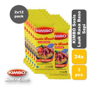 Foto Produk KIMBO Sosis Lauk Rasa Baso Sapi Bag Twin Pack dari KIMBO