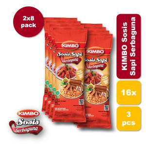 Foto Produk KIMBO Sosis Sapi Serbaguna Bag Twin Pack dari KIMBO