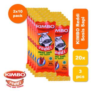 Foto Produk KIMBO Reddi Sosis Sapi Bag Twin Pack dari KIMBO