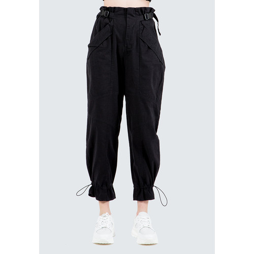 Foto Produk Colorbox Cargo Pants With Buckle I-Lpdfct120E010 Black - Black, L dari Colorbox Indonesia