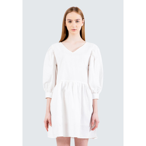 Foto Produk Colorbox Balloon Sleeve Dress I-Diwfcr120E015 Off White - Off White, M dari Colorbox Indonesia