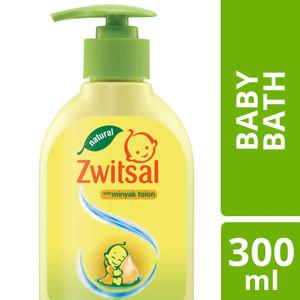 Foto Produk ORAMI - Zwitsal Natural Baby Bath with Minyak Telon 300ml Pump dari Orami