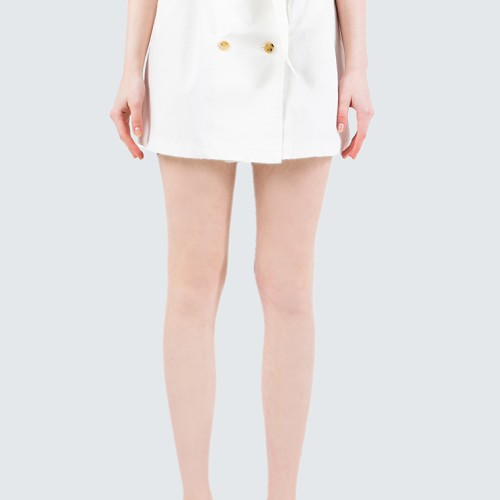 Foto Produk Colorbox Paperbag Skirt With Belt I-Sdwfcr120E017 Off White - Off White, S dari Colorbox Indonesia
