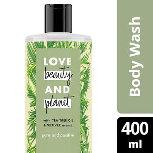 Foto Produk ORAMI - Love Beauty & Planet Pure and Positive Body Wash 400ml dari Orami