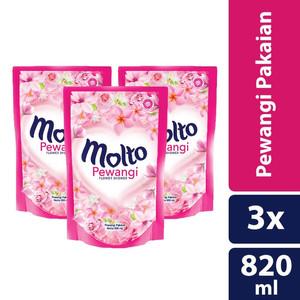 Foto Produk Molto Pewangi Pink 820Ml isi 3 dari Justic Groceries