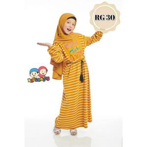Foto Produk Gamis Kaos Anak Raggakids RG-30 - Size XS dari kedai berkah