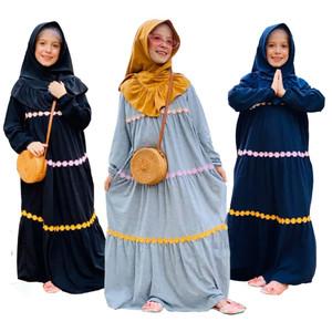 Foto Produk Gamis Kaos Anak Raggakids RG-37 dari kedai berkah