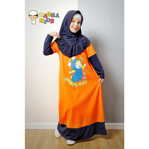 Foto Produk Gamis Kaos Anak Raggakids RG-05 dari kedai berkah