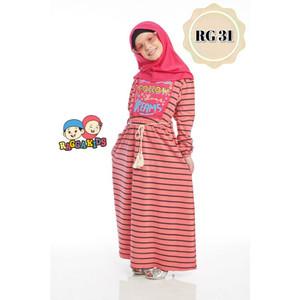 Foto Produk Gamis Kaos Anak Raggakids RG-31 dari kedai berkah