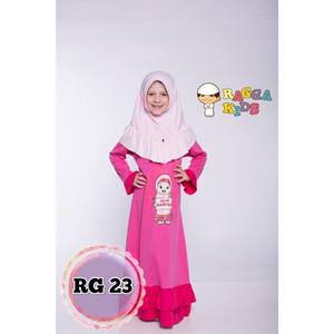 Foto Produk Gamis Kaos Anak Raggakids RG-23 dari kedai berkah