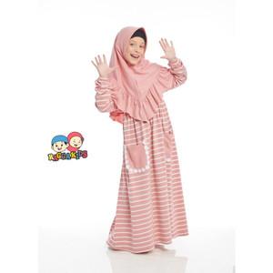 Foto Produk Gamis Kaos Anak Raggakids RG-29 dari kedai berkah