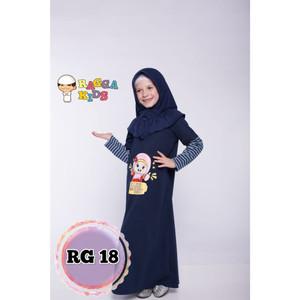Foto Produk Gamis Kaos Anak Raggakids RG-18 dari kedai berkah