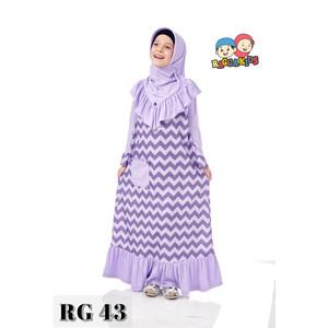 Foto Produk Gamis Kaos Anak Raggakids RG-43 dari kedai berkah