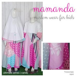 Foto Produk Gamis Anak Candy Ultimate Series by Mamanda dari kedai berkah