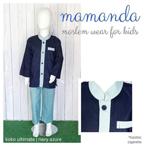Foto Produk Koko Anak Mamanda Navy Azure (Ultimate Series) dari kedai berkah