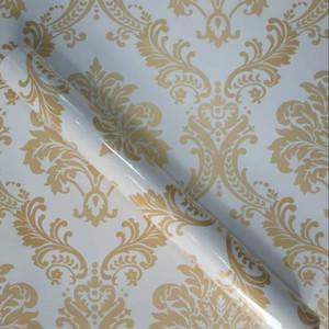Foto Produk Grosir walpeper stiker motif bunga kombisi putih dari techno shop26