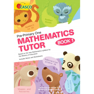 Foto Produk Pre-Primary One Maths Tutor Book 1 - Casco Book - Buku Pelajaran dari Times Bookstore