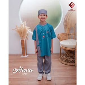 Foto Produk Koko Anak Ahsan by ANV - Turqis, M Junior dari kedai berkah